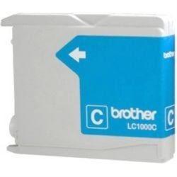 Заправка Brother LC 1000 Cyan - фото 6189