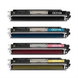 Заправка HP CLJ Pro M176/M177+чип  Black ATM CF350A - фото 6877