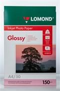 Бумага А4/150/50 INC JET Lomond глянц. одностор. для стр.печати