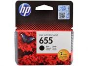 Картридж 655 HP для DJ  IA 3525/5525/4515/4525 Black(черный) 550стр. (о)