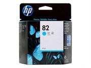 Картридж C4911A №82 HP DJ500/500PS/800/800PS (о)  синий