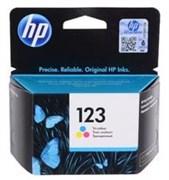 Картридж HP №123 Tri-colour (Цветной) (o)