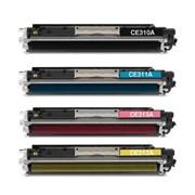 Заправка HP CLJ Pro M176/M177+чип  yellow ATM CF352A